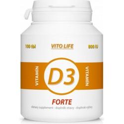Vito Life Vitamín D3 1000 IU cps.100