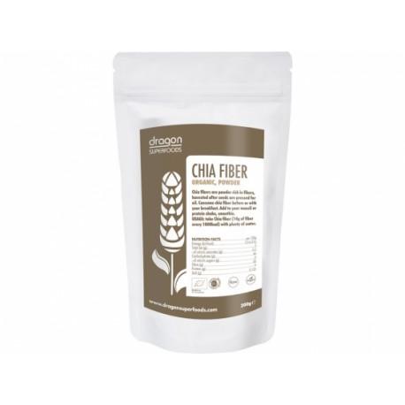Dragon Foods Prášek Chia vláknina BIO 200 g