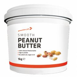 GoNutrition Burákové máslo crunchy 1 kg