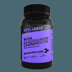 GoNutrition MSM Glucosamine Chondroitine 180cps