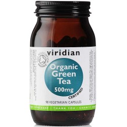 Viridian 100% Organic Green Tea 90 cps.