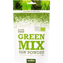 Purasana Green Mix Powder Bio 200 g