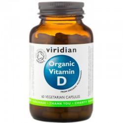 Organic Vitamin D 60 Kapslí