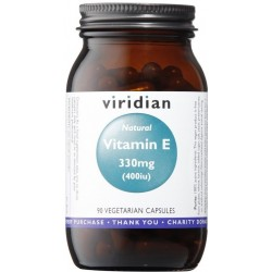 Viridian Vitamin E 330mg 400iu 90 kapslí