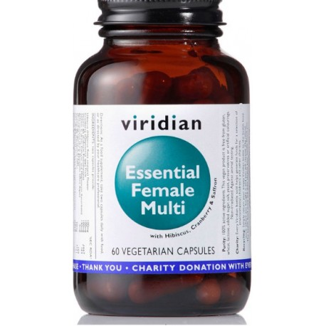 Viridian Essential Female Multi 60 kapslí