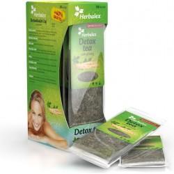 Herbalex Detoxikační čaj s ženšenem 10 ks + 40 % zdarma