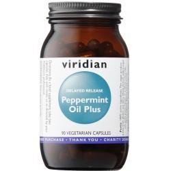 Viridian Peppermint Oil Plus 90 cps.