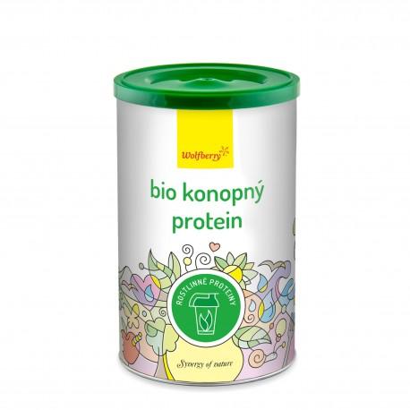 Konopný protein Wolfberry BIO 180 g