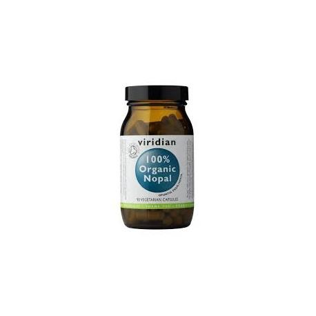 Viridian 100% Organic Nopal 90 kapslí