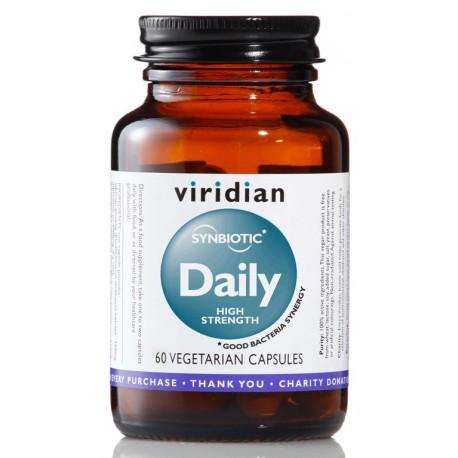 Viridian Synbiotic Daily High Strength 30 kapslí