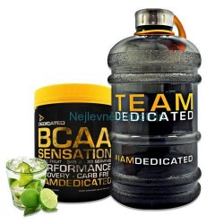 Dedicated BCAA Sensation 405g - Cola s citrónem