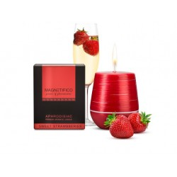 Afrodiziakální svíčka Magnetifico aphrodisiac candle Sweet strawberries