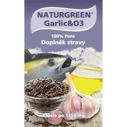 Naturgreen® Garlic&O3 60 tobolek