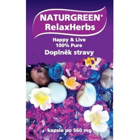 Naturgreen® RelaxHerbs 60 tobolek