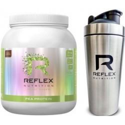 Reflex Pea Protein 900g kakao + Šejkr Exclusive bílý 739ml ZDARMA