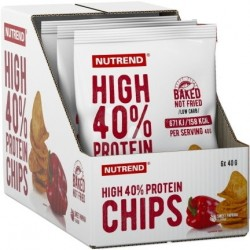 Nutrend High Protein Chips salt 6 x 40g
