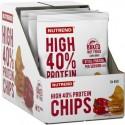 Nutrend High Protein Chips salt 6 x 40g