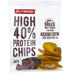Nutrend juicy steak High Protein Chips 6 x 40g