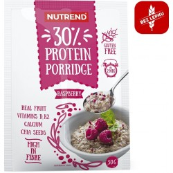 NUTREND Porridge 30% protein Malina 50g