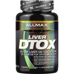 Allmax Liver D-tox 42 kapslí