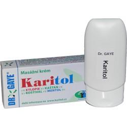 Karitol masážní krém na bolest zad, kloubů a svalů 100 ml