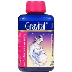 Gravital® - XXL economy balení 180 tbl., multivitaminy pro těhotné a kojící ženy