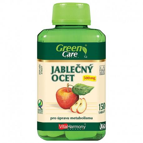 Jablečný ocet 500 mg - XXL economy balení 150 tbl. +Čaj - Štíhlá linie s Acai za 1Kč