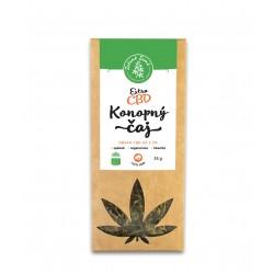 CBD Extra konopný čaj 3,3%, 35 g