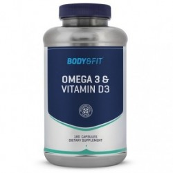 Body & Fit Omega3 + Vitamin D3 180 caps