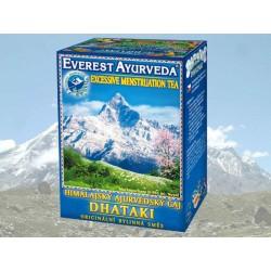 Everest Ajurveda Himalájský čaj DHATAKI silná menses 100 g