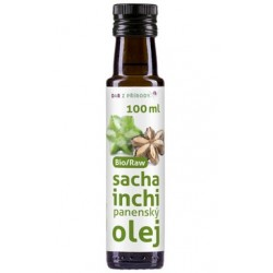 Sacha Inchi Bio Raw panenský olej 100ml