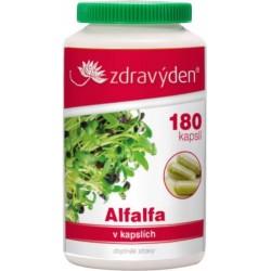 Zdravý den Alfalfa 100% přírodní ve 180 cps.