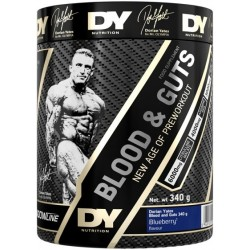 Dorian Yates Blood and Guts 340g Blueberry