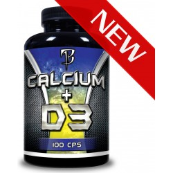 BODYFLEX Nutrition Calcium + D3 100cps