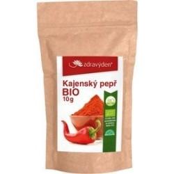 Zdravý den Kayenský pepř Bio 10 g