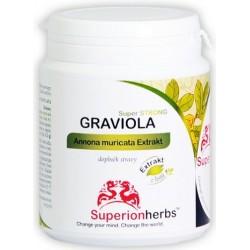 Superionherbs Graviola Extrakt z listů 90 cps.
