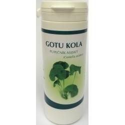 Gotu Kola vegetariánské kapsle 100 ks - Nature Force