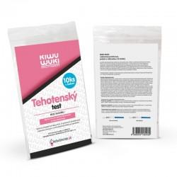 Kiwu Wuki Těhotenský test HCG (10 IU / ML) - proužek 10 ks