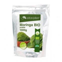 Zdravý den Moringa Bio Raw prášek 1000 g
