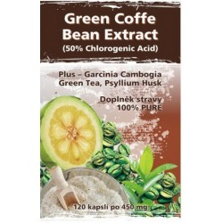 Naturgreen Green Coffee Bean Extract Blend 120 kapslí