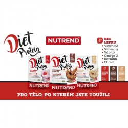 Nutrend Diet Protein Fitness Shake 250 g ledová káva
