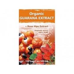 Naturgreen Organic Guarana + ExtraHerbs 120 veganských tbl.