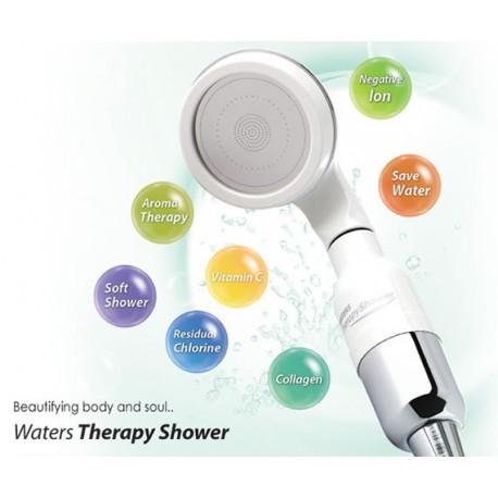 Relaxační a revitalizující sprchová hlavice