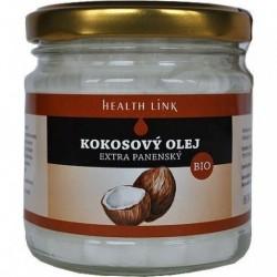 Health Link Bio extra panenský kokosový olej 200 ml