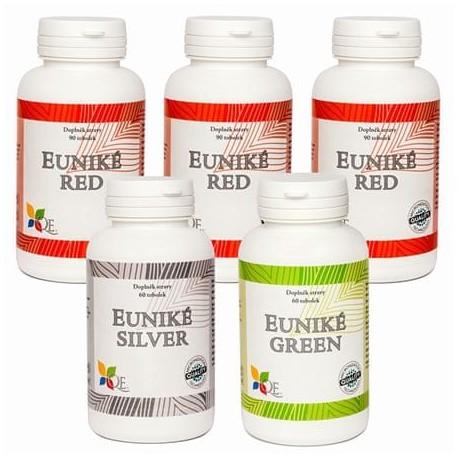 Euniké for woman - tříměsíční kúra pro ženy, 390 tobolek