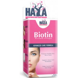 Haya labs Biotin Maximum 10,000 mcg 100 kapslí