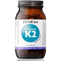 Viridian nutrition Vitamin K2 90 kapslí