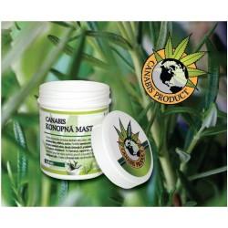 Canabis Product konopná mast s bylinkami 125 ml