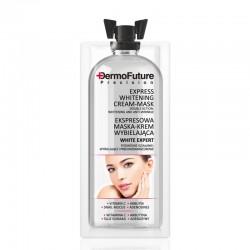 DermoFuture Expresní bělící krémová maska 2 v 1 12 ml