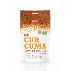 Purasana Curcuma Raw Powder Bio 200 g